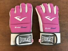 Everlast EverCool Pink Grappling Training Gloves 4oz (HD12)