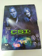 Csi Las Vegas The Early Cases Volume One - 3 X DVD English Region 1 - 3T