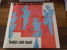 33 TOURS / LP--THE MANHATTAN TRANSFER--BODIES AND SOUL--1983