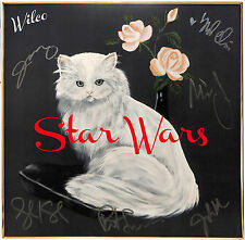 """Wilco Autographed """"Star Wars"""" Album Signed by full band: Jeff Tweedy +5 PSA COA"""