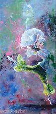 "Ballerina ""Jasmine"", Large Original Acrylic Abstract Painting, Artist Signed"