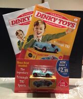 Classic Dinky Toys Collection magazine Part #1 1:43 Scale Triumph TR2 Sports