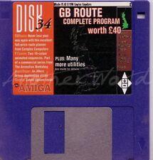 CU Amiga - Magazine Coverdisk 34 - GB Route (Full Program) <MQ>