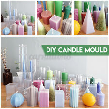 Diy Candle Molds Candle Making Mould Handmade Soap Molds Clay Craft Decor Tools