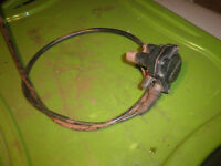 2004 Honda Rancher 350 ES TRX350 throttle cable n thumb control