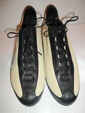 NIKE CREME SUEDE/BLACK LEATHER SNEAKER MENS SIZE 11 M (US)