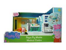 Centro médico móvil Peppa Pig GP médico con Figura de oso pardo de DR Nuevo