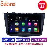2Din Touch Screen Android10.0 WIFI Car Radio for 2009 2010 2011 2012 MAZDA 3 GPS