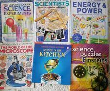 USBORNE 6 Science & Experiments Facts & fun
