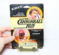 ERTL The Cannonball Run Ambulance In Its Original Box - Mint 1981 Rare