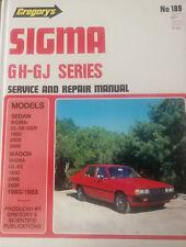 Mitsubishi Sigma GH/GJ Workshop Repair Manual from 1980-1983 with MPN GAP189