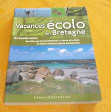 Vacances Ecolo En Bretagne guide tourisme Ouest-France2010