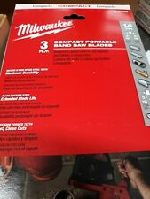 Milwaukee Portable Band Saw Blades M18