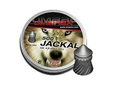 UMAREX JACKAL 4.5 MM CAL. .177 500 PCS. 0.53 G AIRGUN PELLETS AIR RIFLE PELLETS