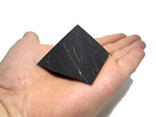 Shungite Schungit Unpolished Pyramid 40mm elite crystal minerals