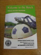 18/05/2014 Southern Sunday League Marcus Lipton Cup Final: ADF Machico v Southba
