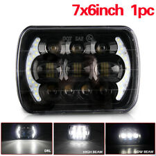"Fit Chevrolet Jeep Cherokee XJ Brightest 105W 7X6"" 5X7"" LED Headlight DRL UK"