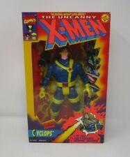 "Cyclops 1993 Deluxe Edition 10"" Uncanny X-Men MARVEL Toy Biz MIB"