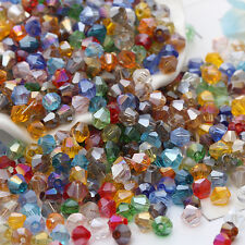 #5301 jewelry 3mm Swarovski Crystal Bicone bead 1000pcs New You pick color