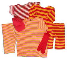 Captain Kangaroo 2 Striped Suits + Shirt, Socks & Cap