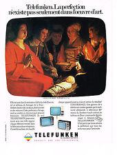 PUBLICITE  1976   TELEFUNKEN  téléviseur