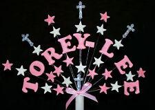 Personalizzato Per Battesimo Croce e STELLA CAKE TOPPER
