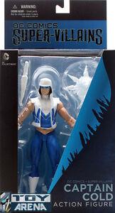 The New 52 DC Comics Super Villains Captain Cold DC Collectibles Action Figure