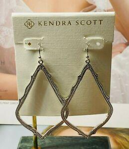 New Kendra Scott Sophee Drop Earrings in Silver