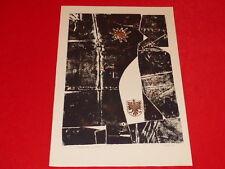 [Coll. RAOUL-JEAN MOULIN ART XXe] FERO KRAL (CZ) LITHOGRAPHIE Techn Mixte 1966