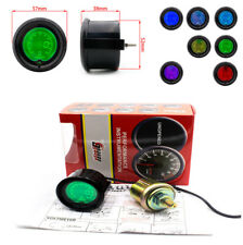 2inch 52mm Multi-color Oil Press Pressure Car Digital LED Meter Gauge Tint Lens