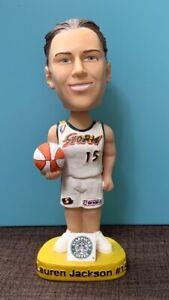 LAUREN JACKSON SEATTLE STORM WNBA 2002 BOBBLE HEAD