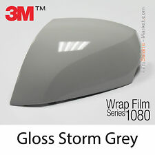 20x30cm FILM Gloss Storm Grey 3M 1080 G31 Vinyle COVERING New Wrap Car Wrapping