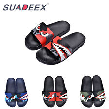 Mens Ultra Light Slippers Indoor Outdoor Casual Shower Beach Pool Slide Sandals