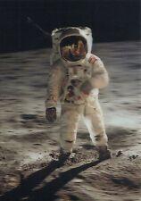 3-d-postal: moonwalk-astronauta americano corre a la Luna