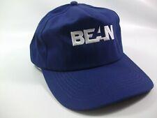 Bean K Products Hat Blue Snapback Baseball Cap Made USA