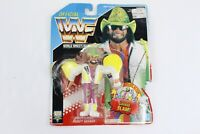 Hasbro WWF Macho Man Randy Savage Series 5 Action Figure Damaged Card