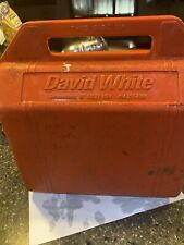 David White Lt6 900 Meridian Builders Transit Amp Case Untested