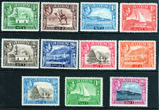 Aden mmint part set to 2 Rupees MLH/MH 1939-48 [A2006]