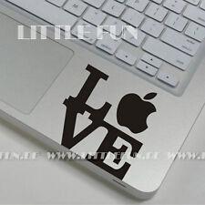 """Macbook Aufkleber Innen Sticker Skin Macbook Air 13"""" Pro 13 """"15 """" Love S05"""