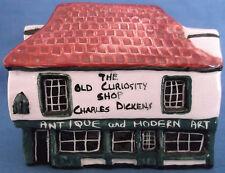 OLD CURIOSITY SHOP CHARLES DICKENS HOLBORN LONDON MODEL FIGURINE