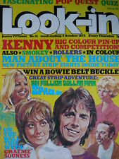 LOOK-IN 4TH OCT 1975 - SMOKIE - KENNY - BAY CITY ROLLERS - BOWIE