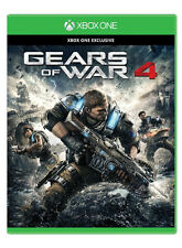 Gears of War 4 (Microsoft Xbox One, 2016) with Four-Game Code
