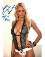 Irina Voronina Signed Photo 8x10 100B Playboy Playmate of the Month January 01