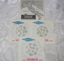 ITALY VINTAGE VIEW-MASTER REELS   T*