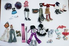 Bratz lot 6 clothes shoes Sweet Dreamz, Glammed up Cloe, Yasmin, Sasha,