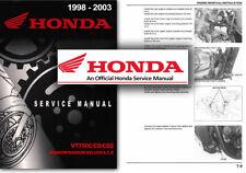 Honda VT750C SHADOW ACE Service Workshop Repair Factory Manual 1998 2003 VT 750