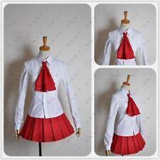 IB Girls White Dress Suit Cosplay Costume X006