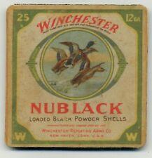 Nublack Winchester 12 gauge Ammo Box COASTER - Duck Hunting