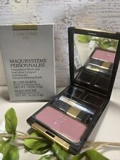 Lancome Personalized Blush and EyeColour Compact~Aplum~ Blush Only