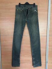 Christian Dior Homme Distressed Slim Leg Men's Jeans W29 L35